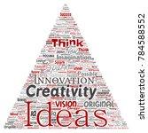 vector conceptual creative idea ... | Shutterstock .eps vector #784588552