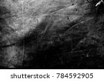 Stock photo creased plastic polyethylene film texture image includes a effect the black and white tones 784592905
