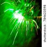 Fireworks In The Sky Explode...