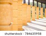 Yellow Pillars In Jhangeer Par...