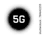 web icon of 5g technology.... | Shutterstock .eps vector #784642255