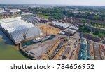 historic dockyard from above | Shutterstock . vector #784656952