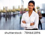 serious career motivated...   Shutterstock . vector #784661896