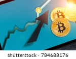 bitcoin. bitcoin cryptocurrency ... | Shutterstock . vector #784688176