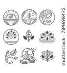 vector illustration or symbol... | Shutterstock .eps vector #784698472