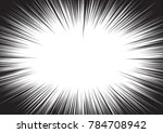 background of radial lines for... | Shutterstock .eps vector #784708942