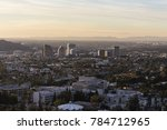 glendale and the san fernando... | Shutterstock . vector #784712965
