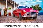 trinidad  cuba  nov 28  2017  ... | Shutterstock . vector #784718428