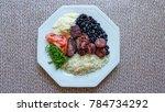 feijoada   typical brazilian... | Shutterstock . vector #784734292