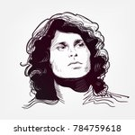 jim morrison vector sketch...
