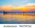 View Gulf Thailand Bridge Sunset - Fine Art prints