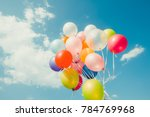 Colorful Balloons Done With A...