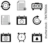 reminders icon set   Shutterstock .eps vector #784783066
