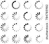 loading icon set | Shutterstock .eps vector #784785982