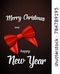 illustration of merry christmas ...   Shutterstock . vector #784789195