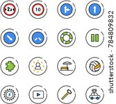 line vector icon set   limited...   Shutterstock .eps vector #784809832