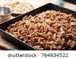 freshly baked eclair | Shutterstock . vector #784834522