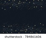 abstract navy blue blurred... | Shutterstock .eps vector #784861606