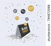 special offer black friday... | Shutterstock .eps vector #784872088