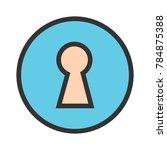 security lock   safe | Shutterstock .eps vector #784875388