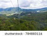 dalat cable car at robin hill ... | Shutterstock . vector #784883116