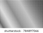 black and white dotted... | Shutterstock .eps vector #784897066