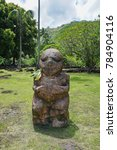 french polynesia tahiti island... | Shutterstock . vector #784904116