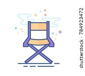 movie director chair icon in... | Shutterstock .eps vector #784923472