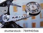 hard disk drive reading head | Shutterstock . vector #784940566