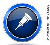 pin vector icon. modern design...   Shutterstock .eps vector #784953202