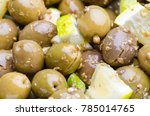 a trditional cypriot... | Shutterstock . vector #785014765