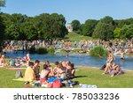 munich  germany  june 26  2017  ... | Shutterstock . vector #785033236