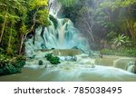 Tat Kuang Si Waterfalls In...