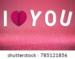 pink background  love and