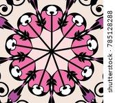 beautiful  pattern for design... | Shutterstock .eps vector #785128288