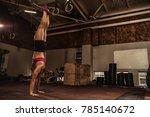 full length shot of a young... | Shutterstock . vector #785140672