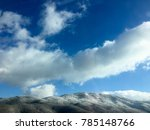 mountain peak in winter | Shutterstock . vector #785148766