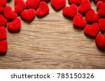 valentine's day background with ... | Shutterstock . vector #785150326