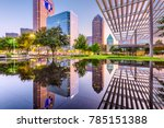 dallas  texas  usa downtown... | Shutterstock . vector #785151388