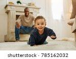 happy childhood. happy dark... | Shutterstock . vector #785162032