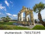 fontana del gigante o dell... | Shutterstock . vector #785173195