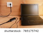 plug in power outlet adapter... | Shutterstock . vector #785175742