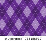 Purple Argyle Background