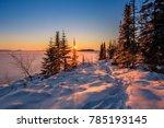 Sunset Over Lake Superior Near...