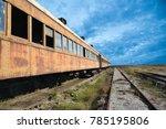 Abandoned Pullman Rail Car On...
