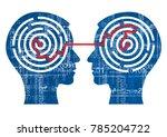 internet sharing concept.... | Shutterstock .eps vector #785204722