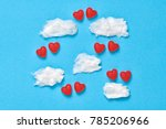 candies sweets  couple in... | Shutterstock . vector #785206966
