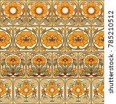 seamless pattern  background... | Shutterstock .eps vector #785210512