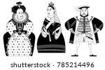 history of england. queen...   Shutterstock .eps vector #785214496