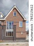 front facade of a home | Shutterstock . vector #785215612